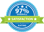 97% Overall Satisfaction Seal