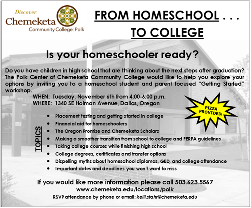 Home School Student Opportunity